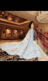 Princess looking Evening gown (2m long train)