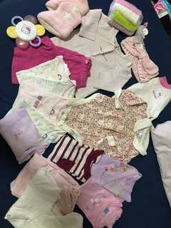 3-6mos girl set