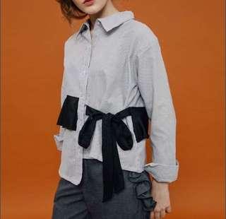 Asimetric kimono top