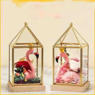 Flamingos fragrance preserved flower 香薰永生花