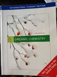 Organic Chemistry by John McMurry (7e)