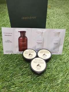 Innisfree Capsule Recipe Pack(s) Rice Sleeping Mask (GOT FREE Innisfree Shampoo Pack)