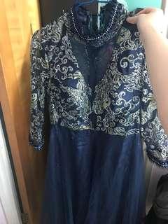 晚裝裙 (只著過一次)
