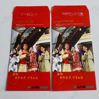 Angpow Red Packet Chinese New Year Affin Bank