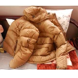 Original Aigle brand quilted coat medium size 18 inches