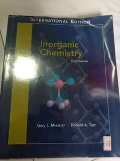 Inorganic Chemistry by Gary L. Miessler, Donald A. Tarr (third edition)
