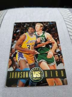 NBA球星珍藏卡 Magic Johnson x Larry Bird