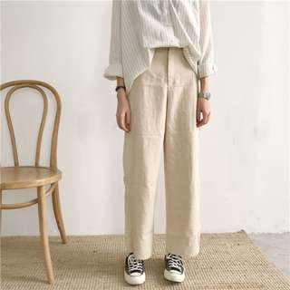 INSTOCK: Myje Straight Cut Pants