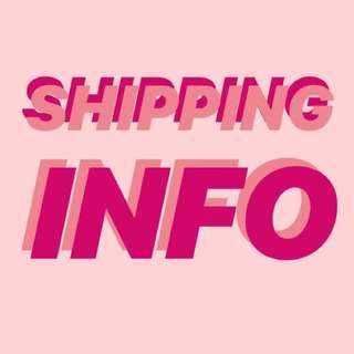 !! SHIPPING INFO !!
