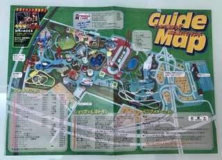 日本最刺激富士急樂園 Guide Map 絕版 1999年版 Fuji-q Highland 珍藏地圖 Thomas Land