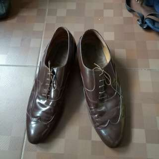 Authentic Brown Leather Shoes