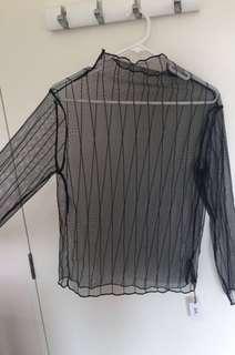 Cute mesh top