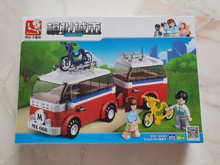 Lego Lepin Compatiable Caravan Campervan