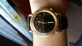 1984 Seiko automatic gold dress watch 7002-8010
