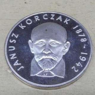 100 Złotych Janusz Korczak 1978