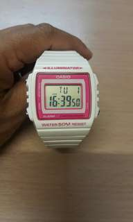 SPECIAL CASIO 3224 W-215H 跳字手錶(see settlement location frist)