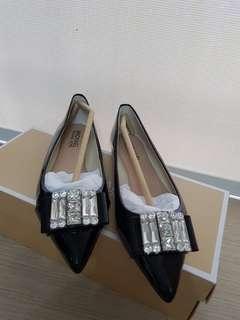Unworn Michael Kors shoes, black patent, US 6M