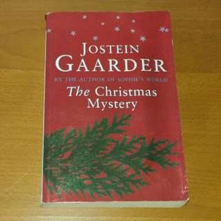 "Jostein Gaarder (Author Of Sophie's World), "" The Christmas Mystery"" Book"