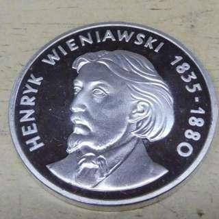 100 Złotych Henryk Wieniawski 1979