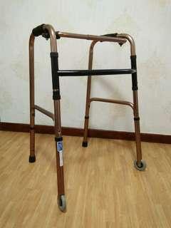 Compact Foldable walker for elderly