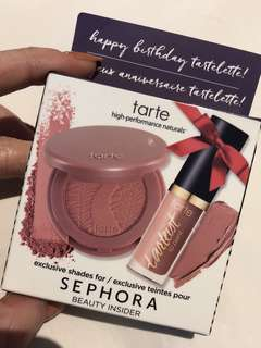 Tarte exclusive birthday set