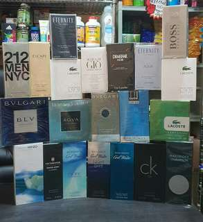 Mens Us brand all authentic perfume