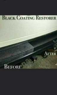 Apr Sales**Black Coating Restorer for Car