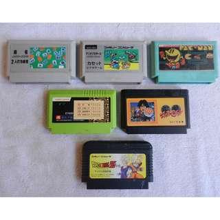 5 Famicom pirates + Dragon Ball
