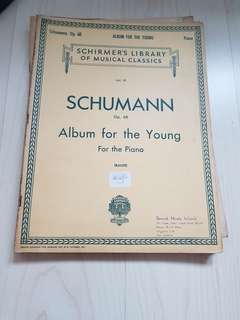 Schumann album for the young for the piano