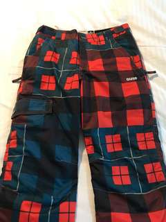 Snowboarding trousers (used)
