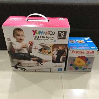 YummiGo Feed & Go Booster FOC Puzzle Ball