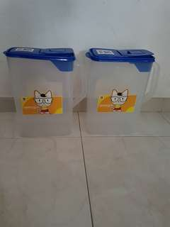 NEW: Pet - Food Storage
