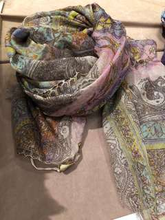 BNIP PASHMA sulk & cashmere scarf / wrap