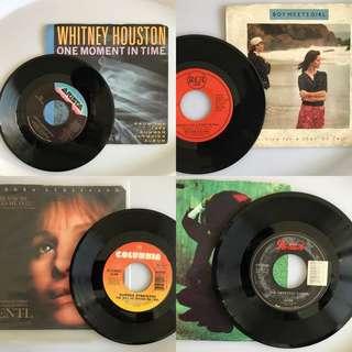 "80-90 7"" Single vinyl record"