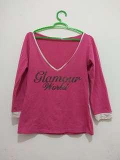 #Obral Blouse Pink