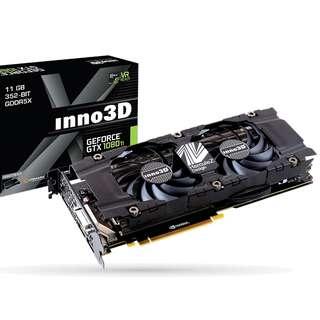 Inno3D GTX 1080Ti Twin X2 11GB
