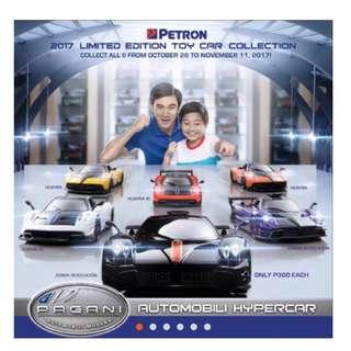 Brand new Petron Pagani Automobili Collection Set (6 pieces)