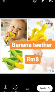 Banana teether