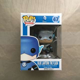 DC Funko Pop! Blue Lantern: The Flash
