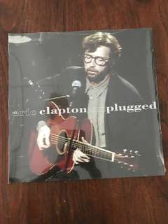 BN sealed Eric Clapton Unplugged Vinyl Record