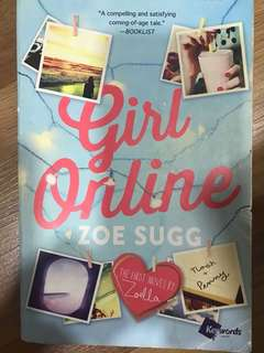 Girl Online-first Novel by Zoe Sugg