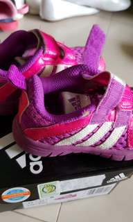 Authentic Adidas girls shoes