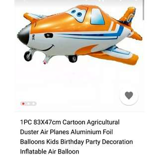 *In Stock* Planes 83x47cm uninflated foil balloon
