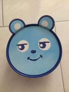 Japan Osaka bear empty biscuit box