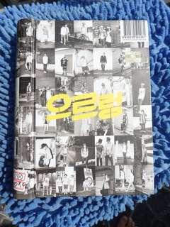 EXO Repackaged Album - GROWL Korean ver.