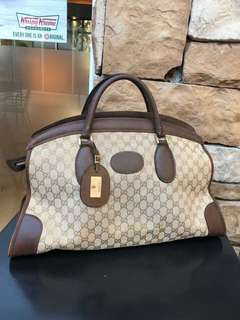 Authentic pre-owned Gucci Unisex Traveller Bag