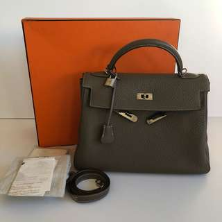 Authentic Hermes Kelly 32 - Full Set