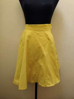 MEG Neon Yellow Skirt