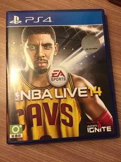 Game PS 4 NBA Live 2014