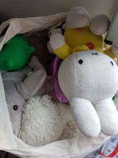 Bless: bag of soft toy.